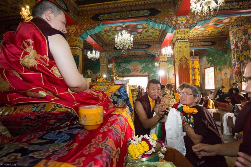 Irene und Karmapa
